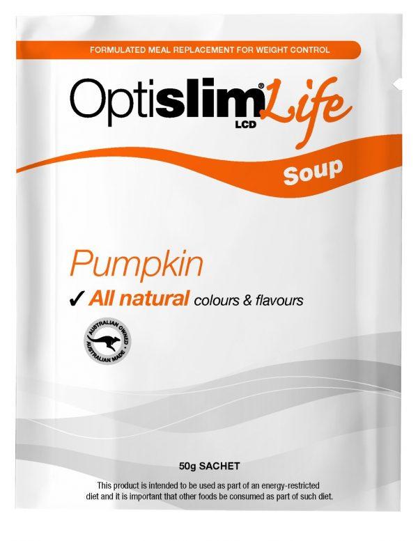 Optislim Life LCD Soup Pumpkin (7x50g) Weight Loss OptiSlim