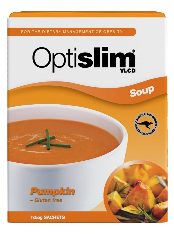 Optislim VLCD Soup Pumpkin (7x55g) Weight Loss OptiSlim